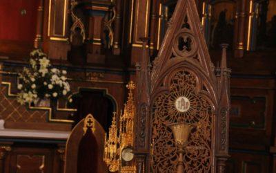 Kult Eucharystii w Parafii Wiskitki